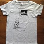 てしまのまど Tシャツ(アッシュ・グレー)