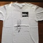 てしまのまど Tシャツ(ホワイト)
