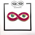 QUERIDA'S EYE LAPEL PIN