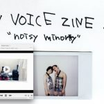 "RAW VOICE ZINE 1 ""noisy minority"""