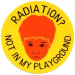 RADIATION? NOT IN MY PLAYGROUND ステッカー