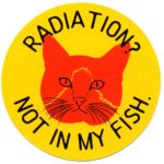 RADIATION? NOT IN MY FISH ステッカー