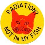 RADIATION? NOT IN MY FISH ステッカー
