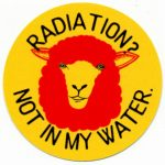 RADIATION? NOT IN MY WATER ステッカー