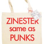 ZINESTER same as PUNKS トートバッグ
