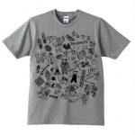 NEW VOTE Tシャツ/杢グレー