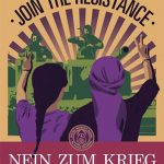 Women Defend Rojava · Join the Resistance ステッカー