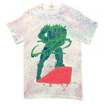 "Tetsunori Tawaraya ""SICKLES"" T-shirt (Dyed White)"