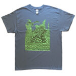 "Tetsunori Tawaraya ""Shopper"" T-shirt (Indigo Blue)"