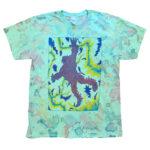 "Tetsunori Tawaraya ""Electric"" T-shirt (Dye Mint)"
