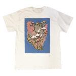 """Tetsunori Tawaraya """"Bones"""" T-shirt (White)"""