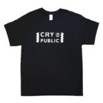 CRY IN PUBLIC Tシャツ(ブラック)