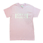 CRY IN PUBLIC Tシャツ(ピンク)