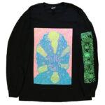 "Tetsunori Tawaraya ""Shrimp"" Long sleeve T-shirt (Black)"
