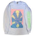 "Tetsunori Tawaraya ""Shrimp"" Long sleeve T-shirt (Light Blue)"